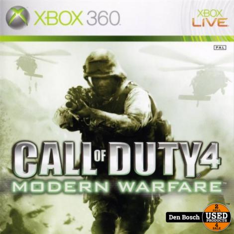 Call of Duty 4 Modern warfare - XBox360 Game