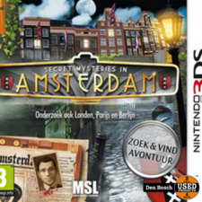 Secret Mysteries in Amsterdam - 3DS  Game