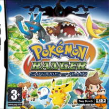 Pokemon Ranger Shadow of Almia -DS Game