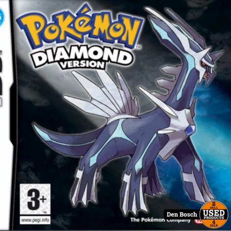 Pokemon Diamond Version -DS Game