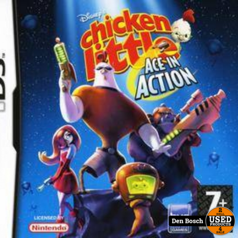 Chicken Little Ace in Action -DS Game