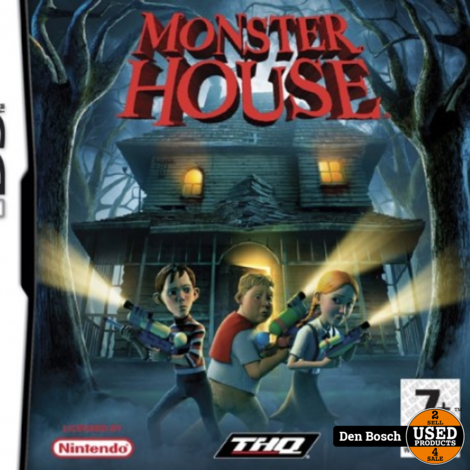Monster House -DS Game