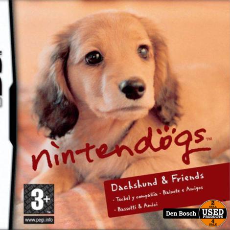 Nintendogs Teckel -DS Game
