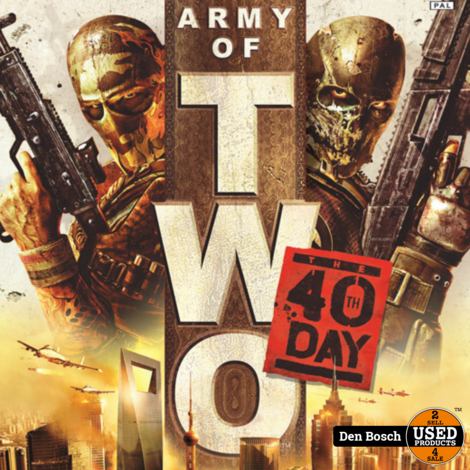 Army of two 40th Day - XBox360 Game