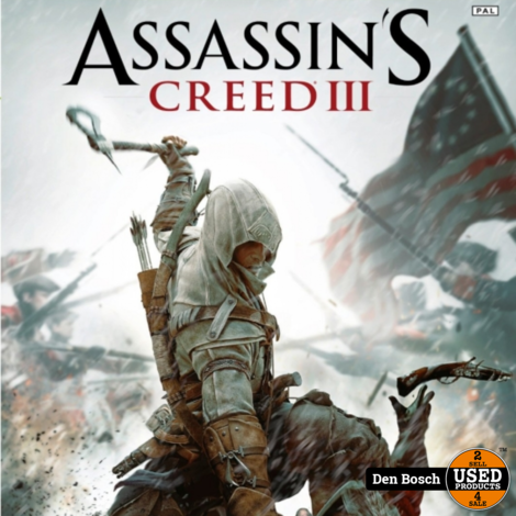 Assassin's Creed III - XBox360 Game