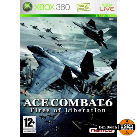 Ace Comat 6 - XBox360 Game