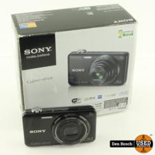 Sony DSC-WX80 Camera 16.2MP Full HD met 1 accu en Oplader