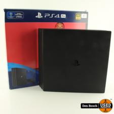 Playstation 4 Pro 1TB met 1 Controller en Doos
