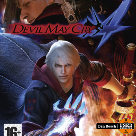 Devil May Cry 4 - X 360 Game