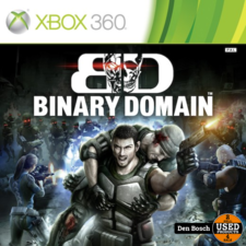 Binary Domain Promotional Copy - XBox 360 Game