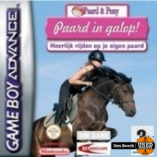 Paard in Galop - GBA Game