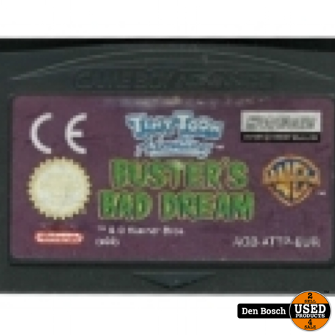 Tiny Toon Adventures Busters Bad Dream - GBA Game