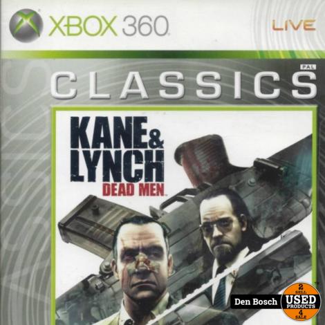 Kane & Lynch Dead Men Classics  - Xbox 360 Game