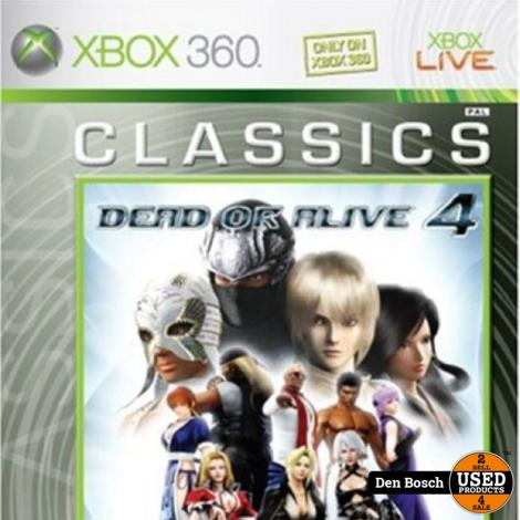 Dead or Alive 4 Classics - Xbox 360 Game
