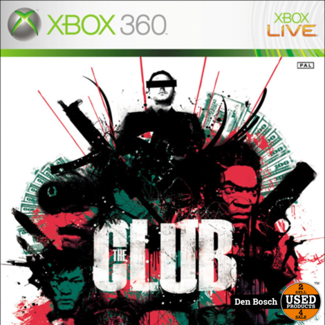 the Club - Xbox 360 Game