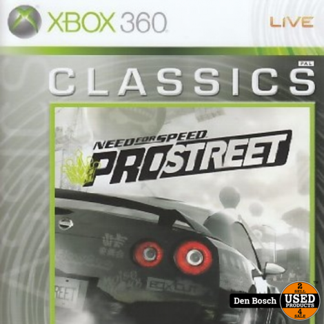Need for Speed Pro Street Classics - Xbox 360 Game