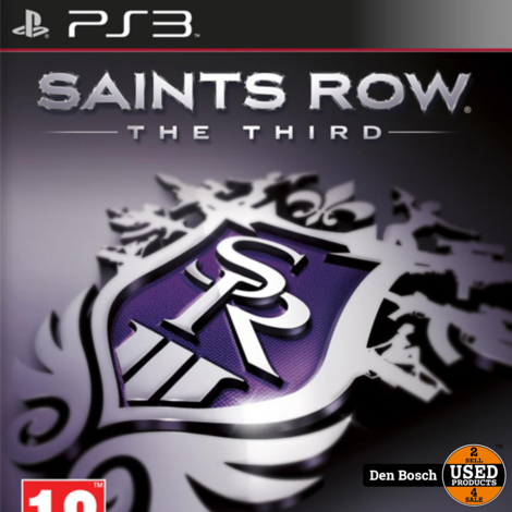 Saints Row the Third - PS3 Game