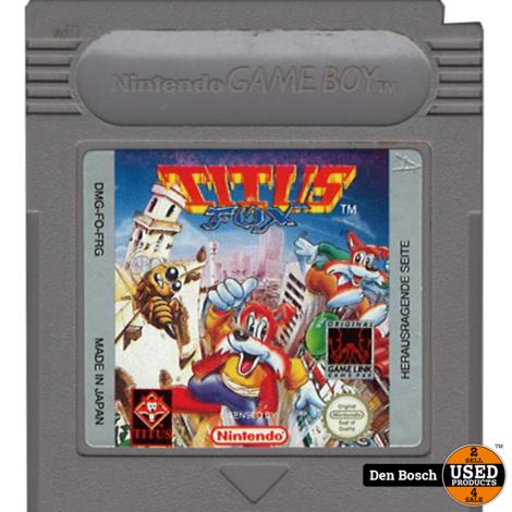 Titus Fox - GB Game