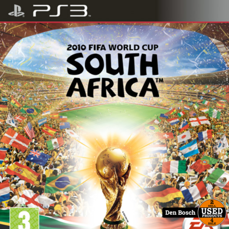 2010 FIFA World Cup South Africa- PS3 Game
