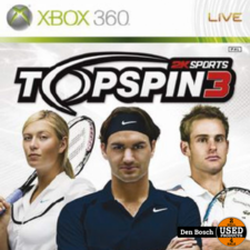 Top spin 3 - XBox360 Game