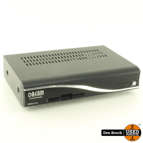 Dreambox DM600PVR  Mediaspeler met Afstandsbediening
