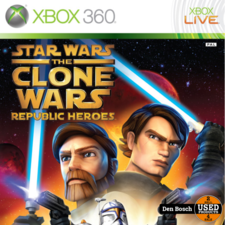 Star Wars the Clone Wars - Xbox 360 Game