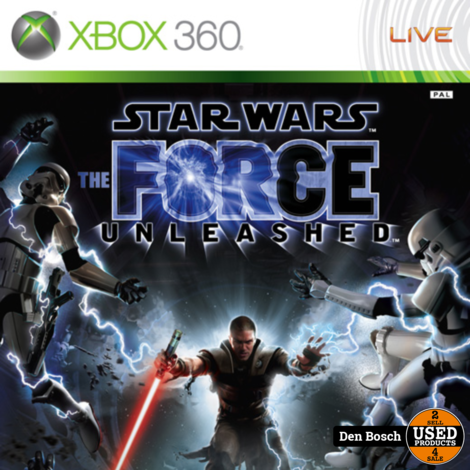 Star Wars the Force Unleashed - XBox360 Game