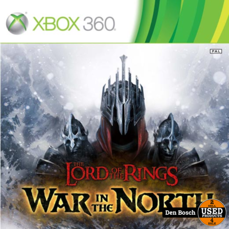 lord of the Rings War in the North - XBox360 Game