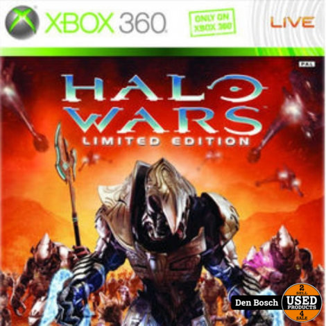 Halo Wars Limited Edition - XBox360 Game
