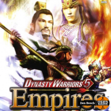 Dynasty Warriors 5 Empires - XBox 360 Game