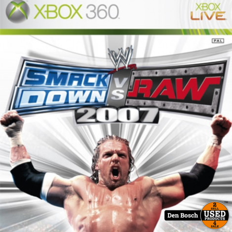Smack Down vs Raw 2007 - Xbox360 Game