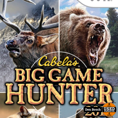 Cabela's Big Game Hunter 2010 (game only) - Wii Game