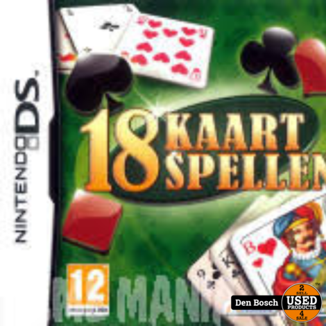 18 Kaartspellen - DS game
