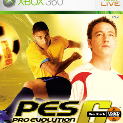 Pro Evolution Soccer 6 - Xbox 360 Game