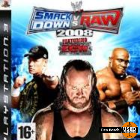 Smack Down VS Raw 2008 - PS3 Game