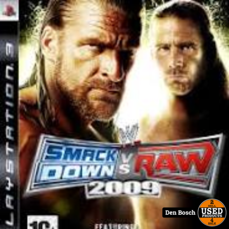 Smack Down VS Raw 2009 PS3 Game