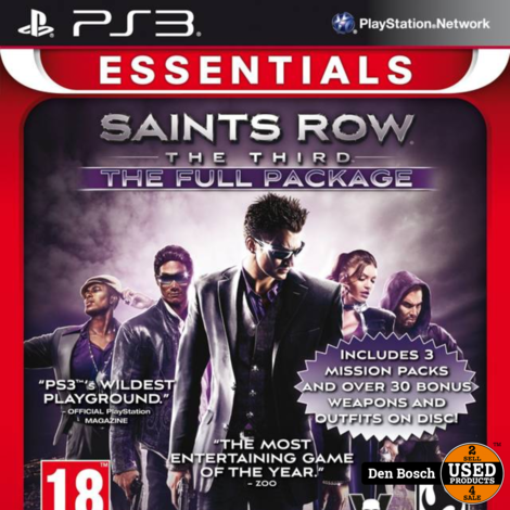 Saints Row the Third Full Package Essentials - PS3 Game