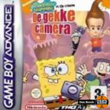 Spongebob en zijn Vrienden de Gekke Camera - GBA Game