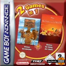 2 Game's in 1 - GBA Game
