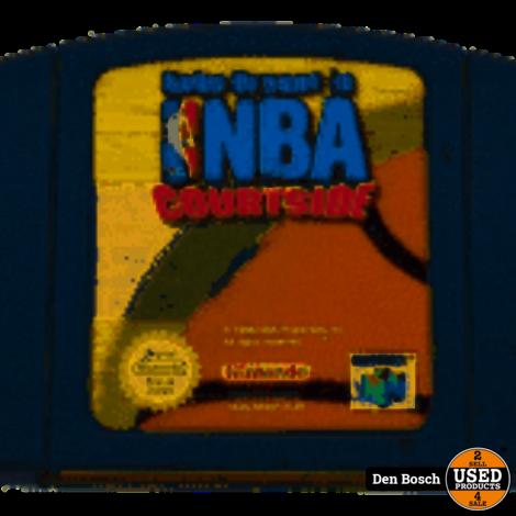 NBA Courtside - N64 Game