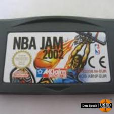 NBA Jam 2002 - GBA Game