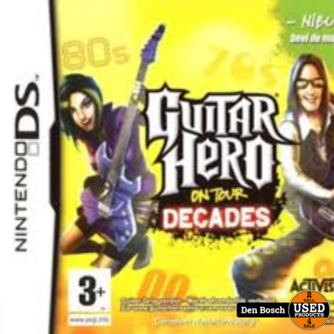 Guitar Hero on Tour Decades  ( losse Game) - DS Game