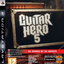 Guitar Hero 5  - PS3 Game