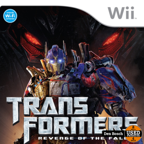 Transformers Revenge of the Fallen - Wii Game