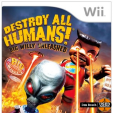 Destroy All Humans Big Willy Unleashed - Wii Game