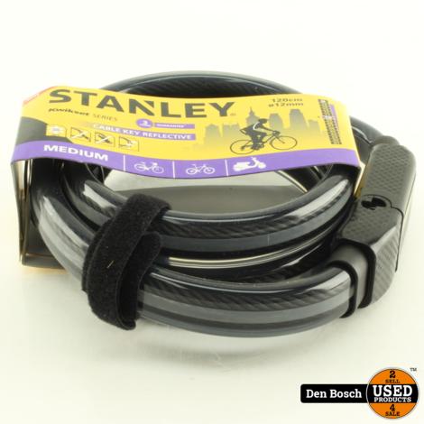 Stanley Feflecterende Fietskabel 120cm (Nieuw)