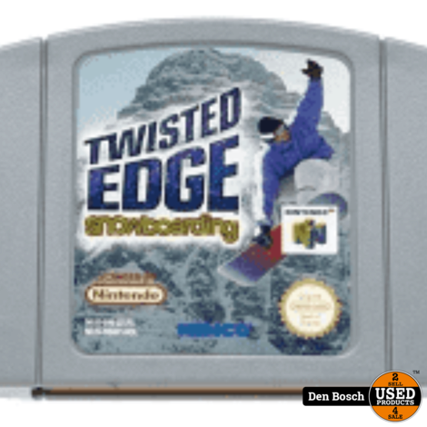 Twisted Edge Snowboarding - N64 Game