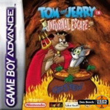 Tom & Jerry Infurnal Escape - GBA Game