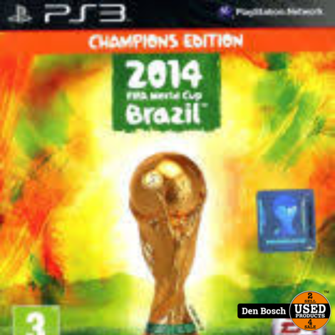 2014 Fifa World Cup Brazil Champions Edition - PS3 Game