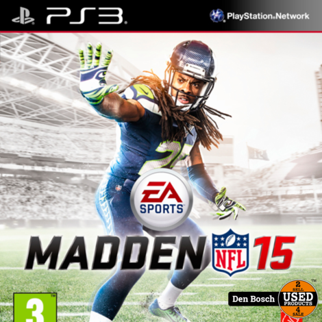 Madden NFL 15 - PS3 Game